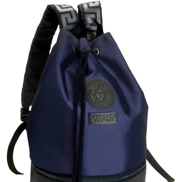 7effcd60896a Versace Parfums Lifestyle Backpack Bag NEW. M 5bb656e79fe486be16243a14